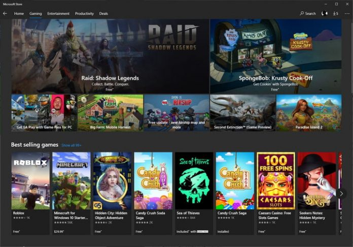 The Microsoft Store just got serious about becoming a PC gamer destination