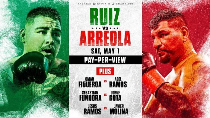 How to watch Ruiz vs Arreola: Live stream featherweight boxing online