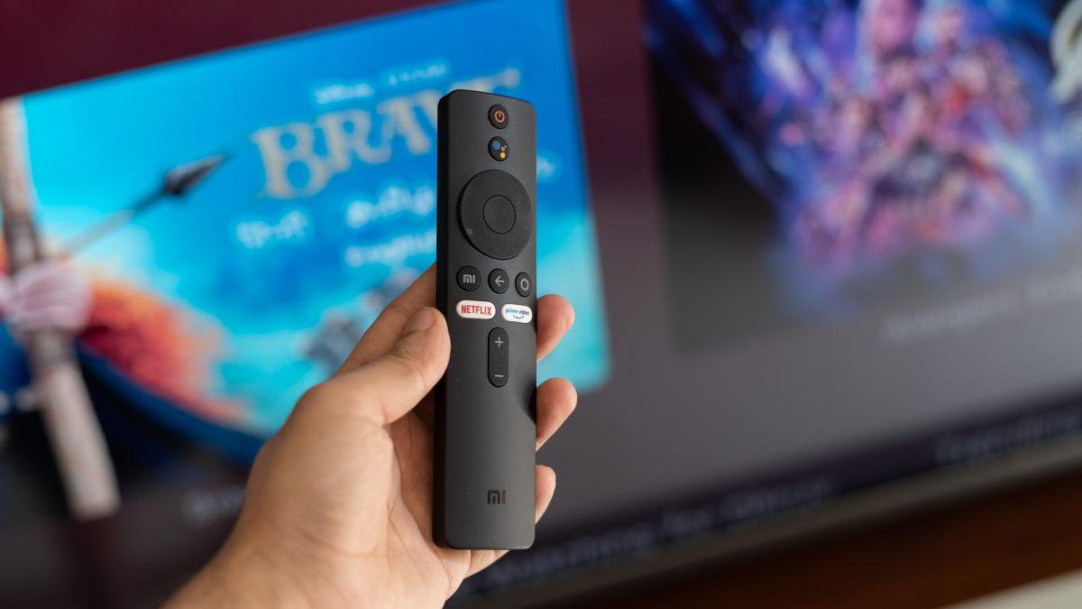 Mi QLED TV 75 remote