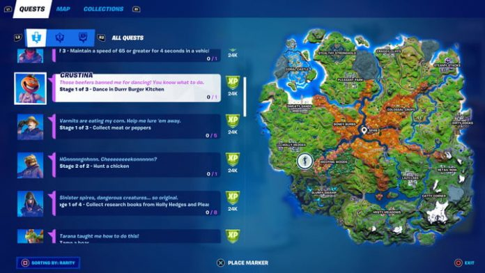 Fortnite season 6, week 8 challenges and how to complete them
