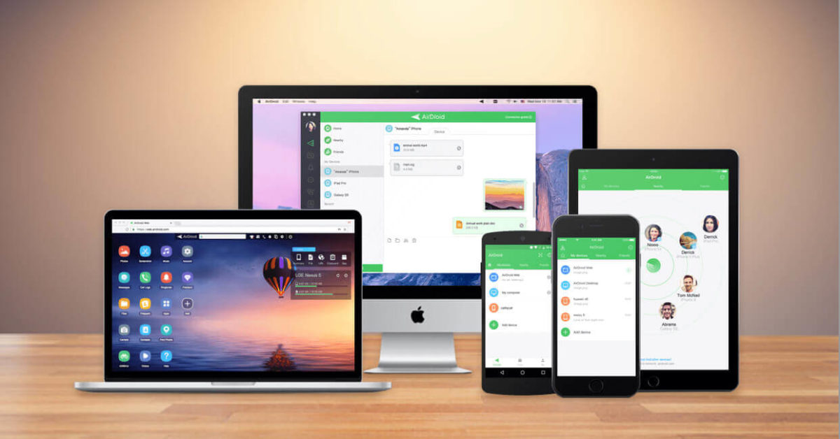 remote control android airdroid