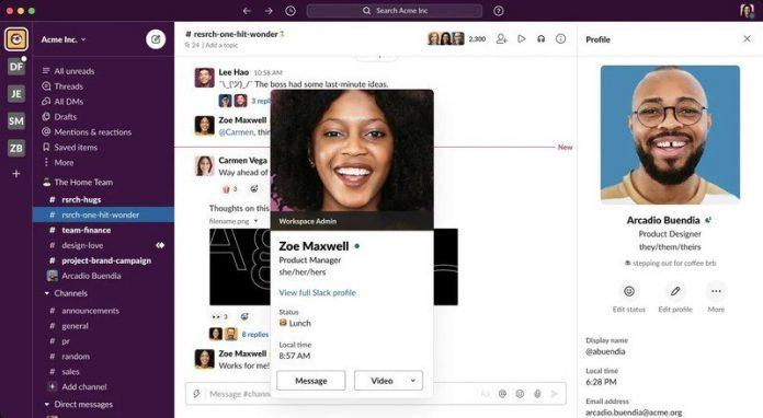 Slack aims for a more inclusive workplace, lets you list preferred pronouns