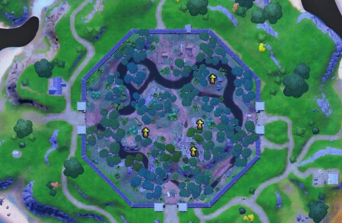 Fortnite challenge guide: Raid an artifact from Stealthy Stronghold and Coral Castle