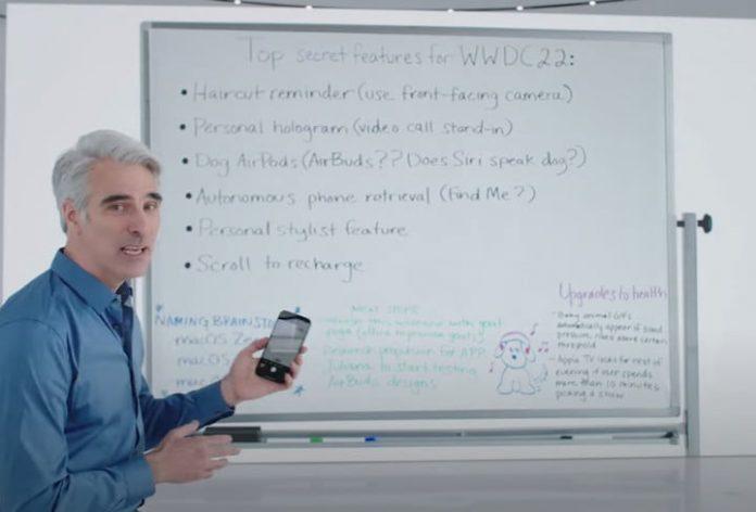 Did you spot Apple's 'top secret ideas for 2022' in WWDC keynote?