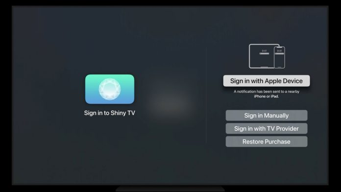 With tvOS 15, You Can Sign Into Apps Using Face ID or Touch ID on Your iPhone