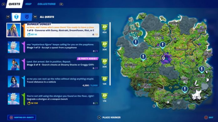 Fortnite season 7, week 1 challenges and how to complete them