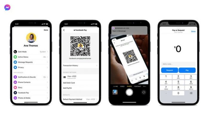 Facebook Messenger's latest update makes it easier to pay strangers online