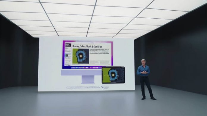 AirPlay will work between multiple Macs for wireless screen sharing