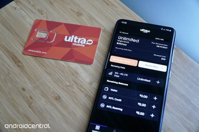 Let us help you recharge your Ultra Mobile online
