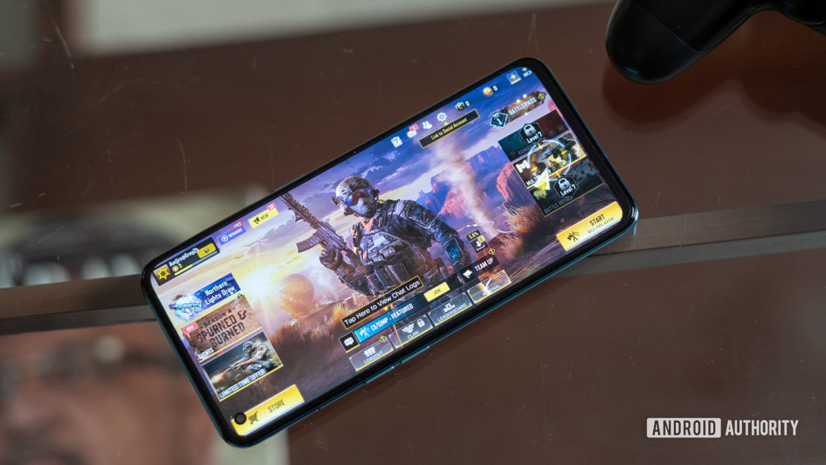 OnePlus Nord CE with call of duty