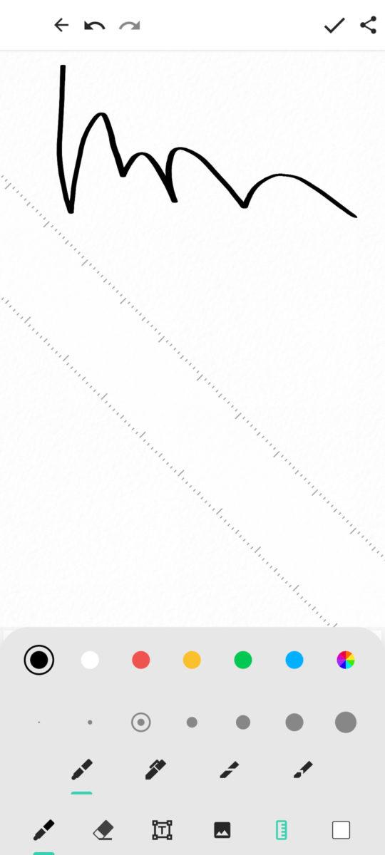 Motorola Moto G Stlyus 5G Moto Note scribble