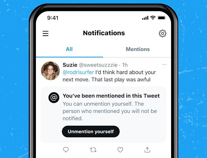 Twitter May Let You 'Unmention' Yourself in Tweets and Prevent People Tagging You in Future Replies