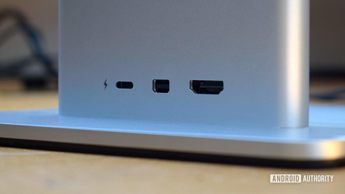 Huawei MateView display ports