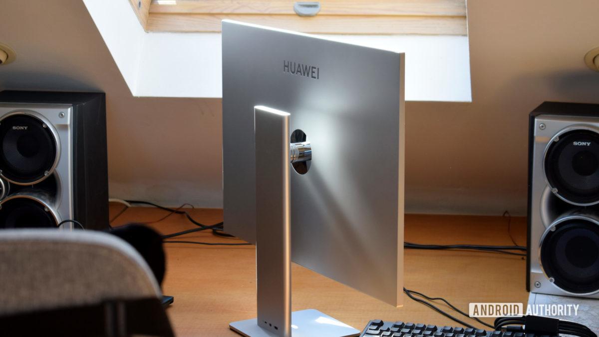 Huawei MateView back side