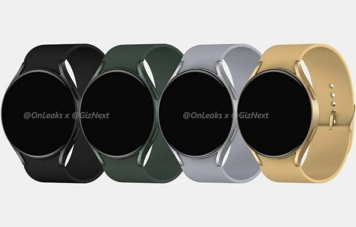 Here's your first look at the Samsung Galaxy Watch Active 4