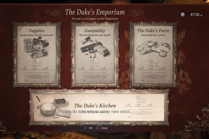 How to Cook in Resident Evil Village