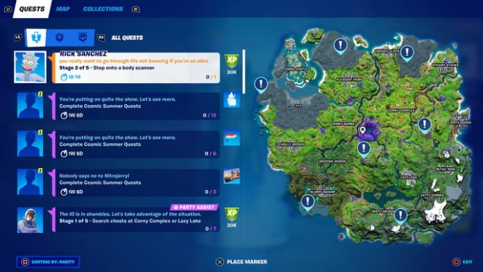 Fortnite season 7, week 2 challenges, and how to complete them