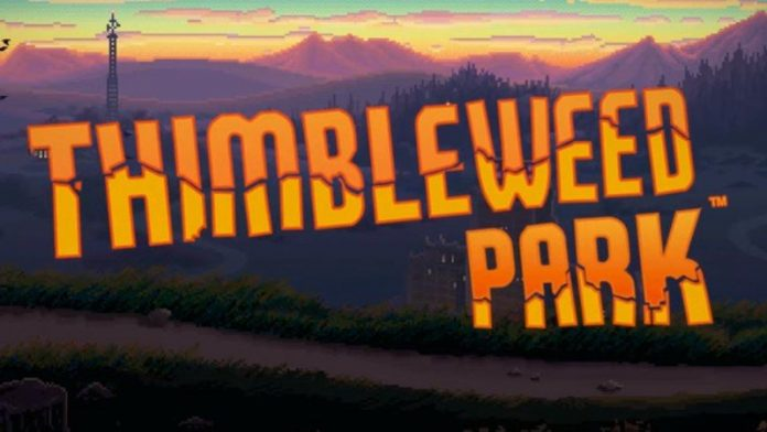 Point-and-click your way to the truth in Thimbleweed Park for Android
