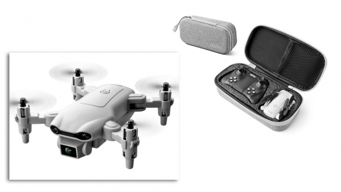 This palm-sized $80 quadcopter drone packs a 4K camera
