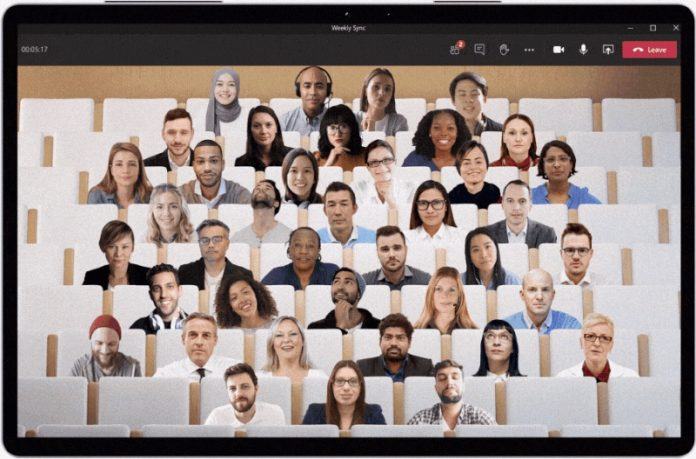 Microsoft Teams' Together Mode to Gain Support for Smaller Groups