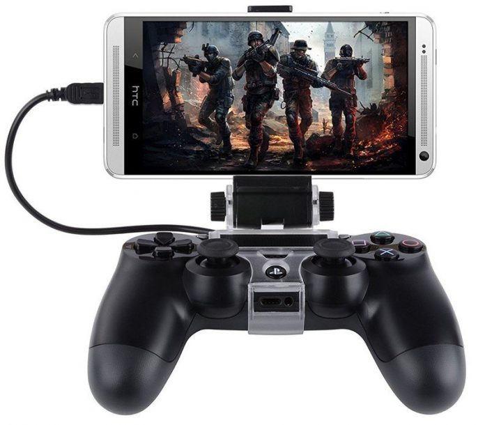 Play anywhere with these great PS4 controller phone mounts for your phone