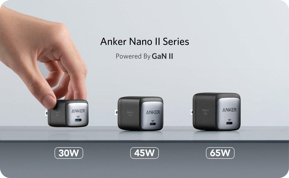 Anker Nano II GaN Chargers