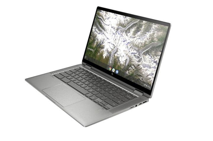 HP Chromebook 14C 2 in 1 computer