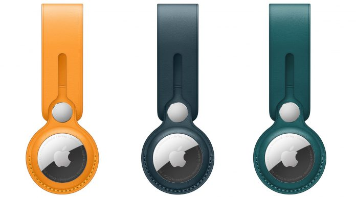 Apple Debuts AirTag Leather Loop and Key Ring in New Colors