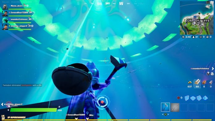 Fortnite challenge guide: Deploy alien nanites anywhere other than Holly Hatchery