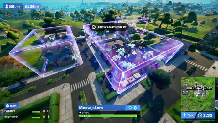 Fortnite challenge guide: Open chests or ammo boxes in low-gravity areas