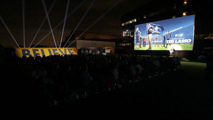 Apple Holds Screening Event of 'Ted Lasso' Season Two Ahead of Global Premiere Next Week