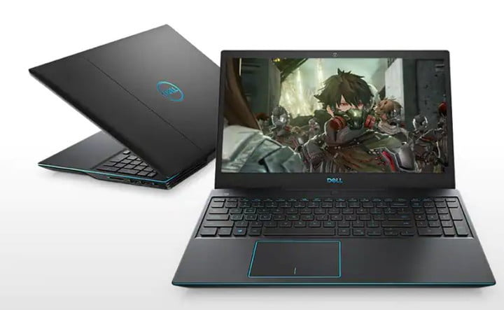 Dell G3 15 Gaming Laptop with Code Vein on screen