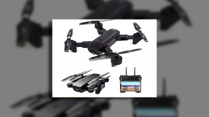Just $99, this quadcopter drone packs two wide-angle cameras