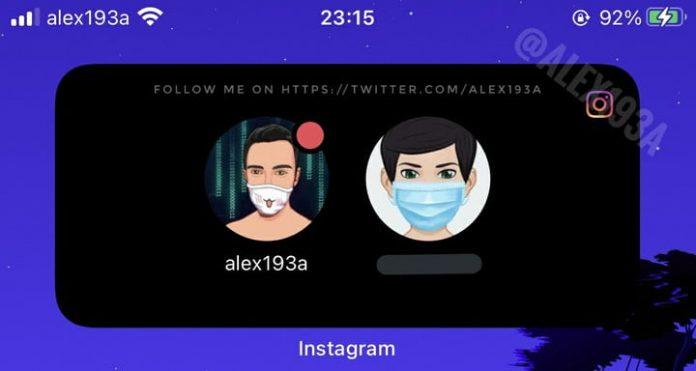Instagram mulls iPhone widget for easier account switching