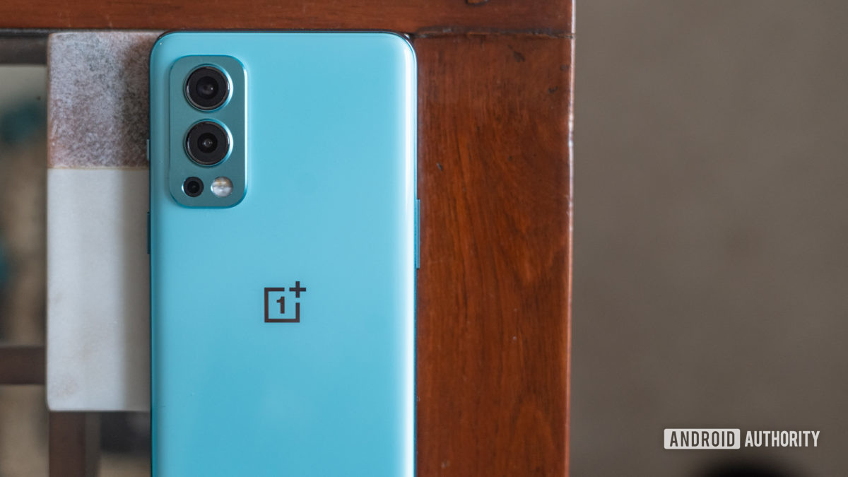 OnePlus Nord 2 close up on camera module