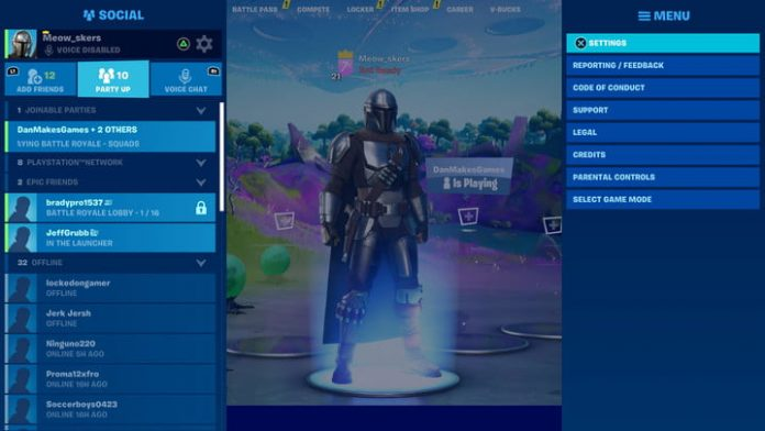 How to use preferred item slots in Fortnite