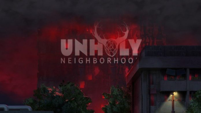 Puzzle your way through crazy town in UnHoly Neighborhood for Android