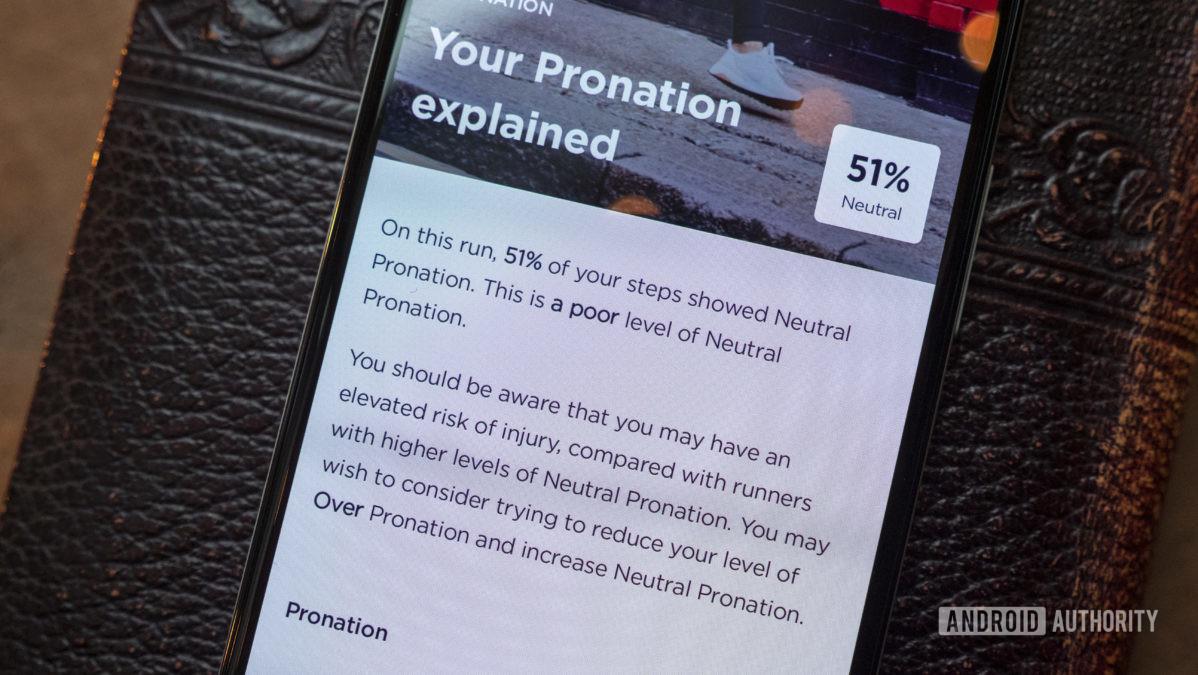 nurvv run review pronation details