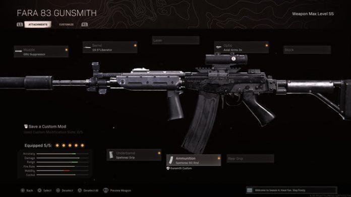 The best FARA 83 loadouts in Call of Duty: Warzone