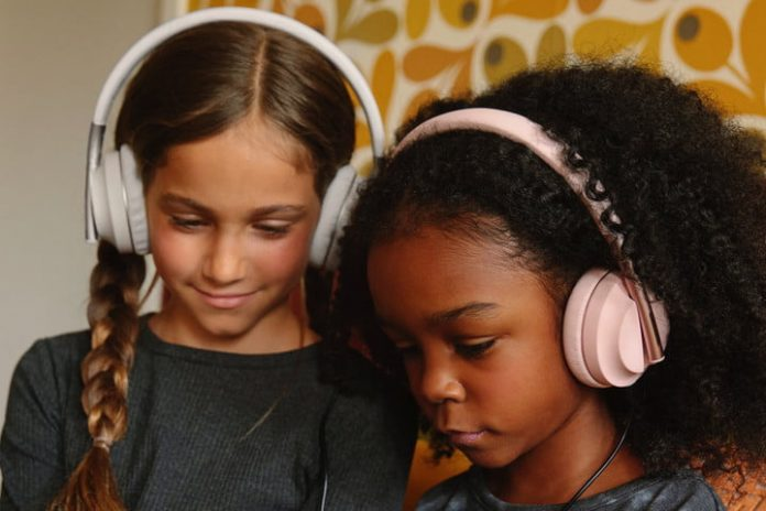 Here are some volume-limiting headphones your kids might actually wear