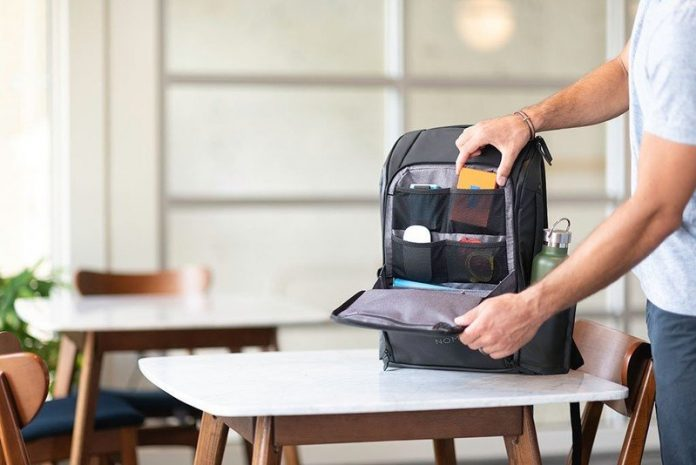 These business backpacks are both fashionable and functional