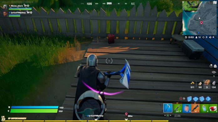 Fortnite challenge guide: Ignite enemy players or enemy player structures