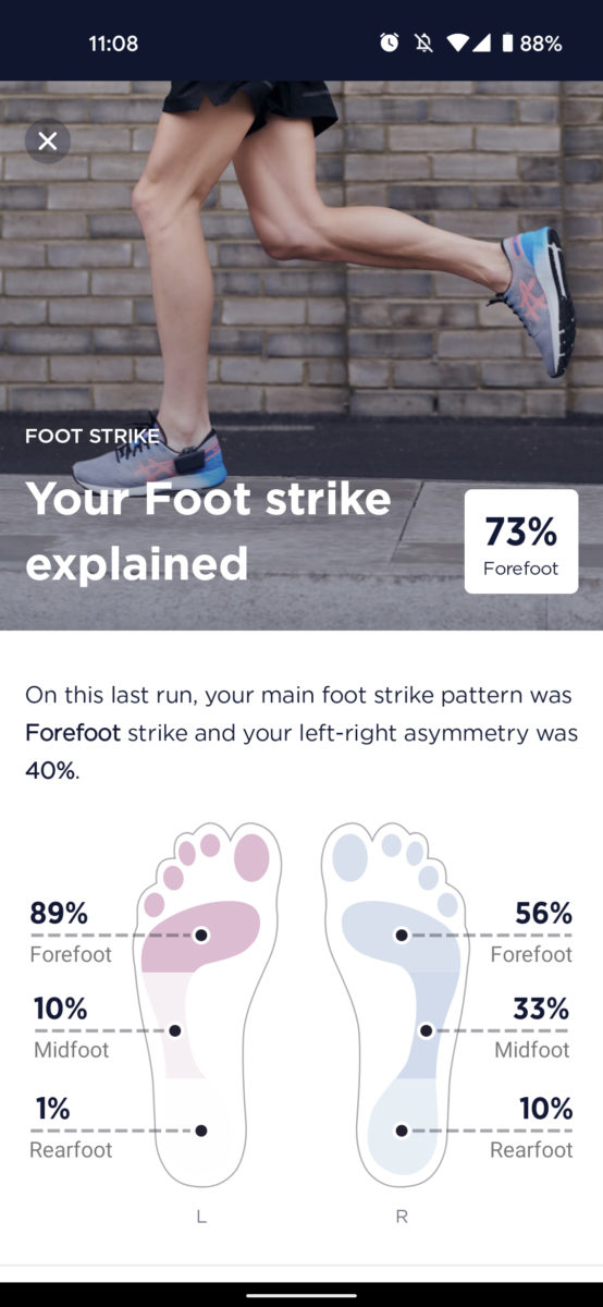 nurvv run review footstrike overview