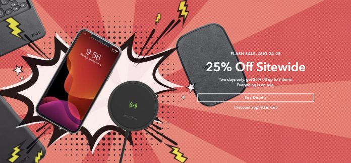 Deals: Get 25% Off Mophie Charging Accessories and More During ZAGG's Sitewide Flash Sale
