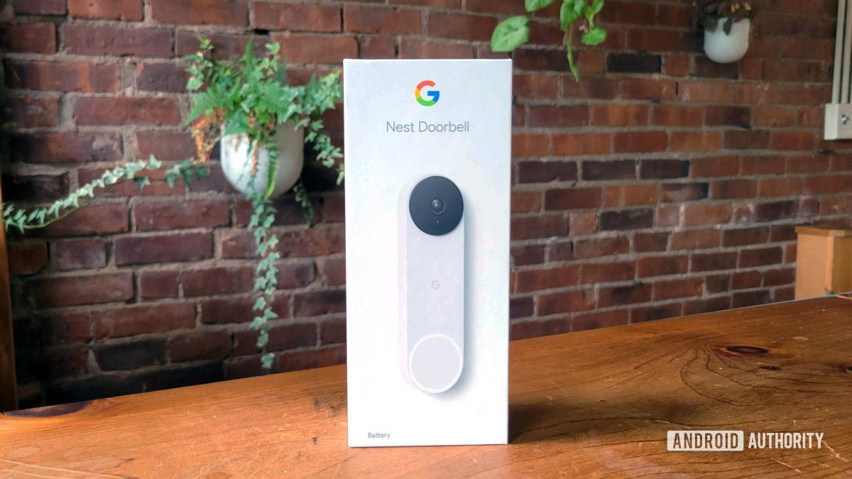 Google Nest Doorbell Review Retail Box