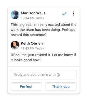 Google Docs to finally borrow one of the best features from Gmail