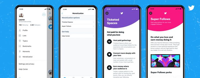 Twitter Begins Rolling Out Ticketed Spaces on iOS
