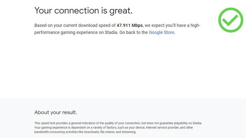 google-stadia-connection-test-screenshot