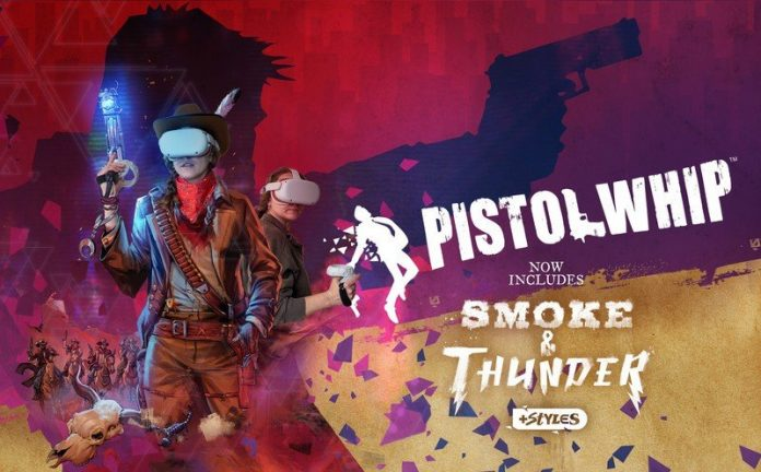 Pistol Whip: Smoke & Thunder is the 5-star update we've been waiting for