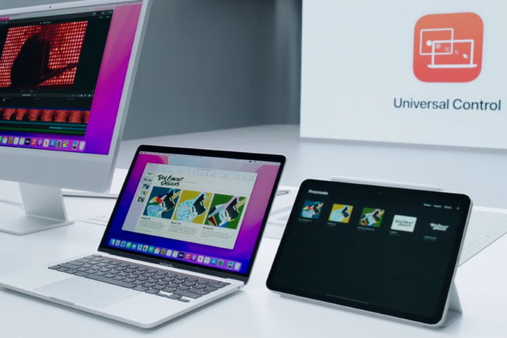 Apple's Universal Control lets you share your keyboard and mouse with other Macs and iPads nearby.